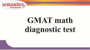 GMAT math test