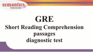 GRE reading comprehension practice test