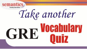 GRE vocabulary quiz
