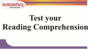 IELTS reading comprehension diagnostic test
