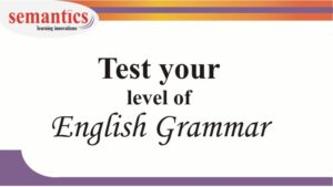 Test your level of English grammar